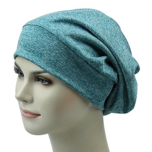 d9925dcde34 Sleep Cap For Hair Summer Gifts For Frizzy Bed Headwear Curly Beanie ...