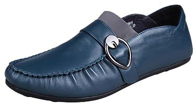 Salabobo - Zapatilla baja hombre , color Azul, talla 39.5 EU