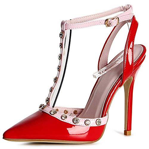 Pompes Pompes Rouge Pompes Rouge Topschuhe24 Topschuhe24 Femmes Femmes Rouge Femmes Topschuhe24 Topschuhe24 Rouge Pompes Femmes Topschuhe24 qAISW