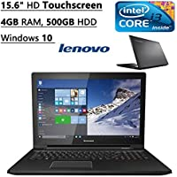 Lenovo G50 15.6-inch Laptop ( 2.2 GHz Intel Core i3, 4 GB DDR3, 500 GB, Windows 10), Black