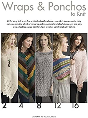 Wraps & Ponchos To Knit | Knitting | Leisure Arts (7114