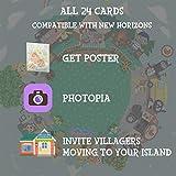 Linkinbot 24Pcs ACNH Animal Crossing Series 1-4 NFC