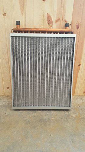 22x25 Water to Air Heat Exchanger With 1'' Copper ports~~~AMERICAN MADE! by Badgerpipe