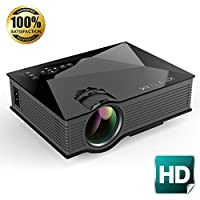 UNIC UC46 1200 Lumens Portable Multimedia HD Mini LED Projectors