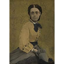 Perfect effect canvas ,the Imitations Art DecorativePrints on Canvas of oil painting 'Hilaire Germain Edgar Degas Princess Pauline de Metternich ', 12 x 17 inch / 30 x 43 cm is best for Hallway decor and Home decoration and Gifts