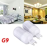 G9 3.5W White/Warm White 5730SMD 420LM LED Corn Light Bulb 110V