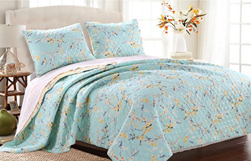 barefoot-bungalow-cherry-blossom-quilt-set-3-piece-full-queen
