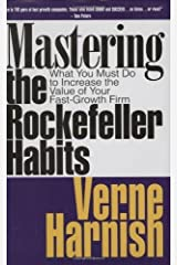 Mastering the Rockefeller Habits: What You Must Do to Increase the Value of Your Growing Firm by Harnish, Verne (2010) Hardcover Pasta dura