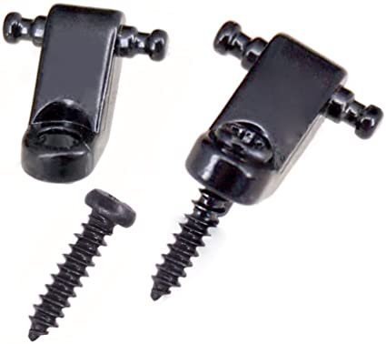 Set Of 2 Roller String Retainer Guides Fits Most Electric Guitars Instrument