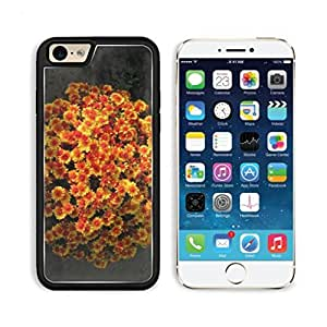 Chrysanthemum yellow red green leaves Mogo Outlet iPhone 6 Cover Premium Aluminium Design TPU Case Open Ports Customized Made to Order wangjiang maoyi