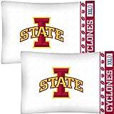 NCAA Iowa State Cyclones Football Set of Two Pillowcases