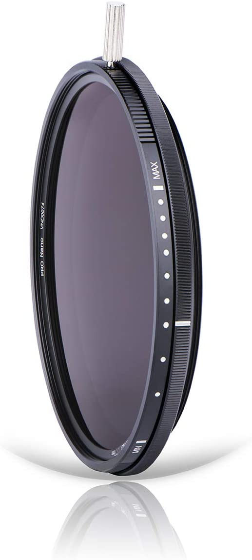 ND32-ND512 5-9 Stops Enhance ND-Vario Filter NiSi 40.5mm Variable ND Filter