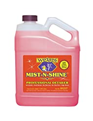 Wizards 01217 Mist-N-Shine Professional Detailer - 1 Gallon