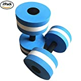 W-ShiG 1 Pair Aquatic Exercise Dumbbells for Water Aerobics Training Yoga Fitness Improve and Pool Exercises