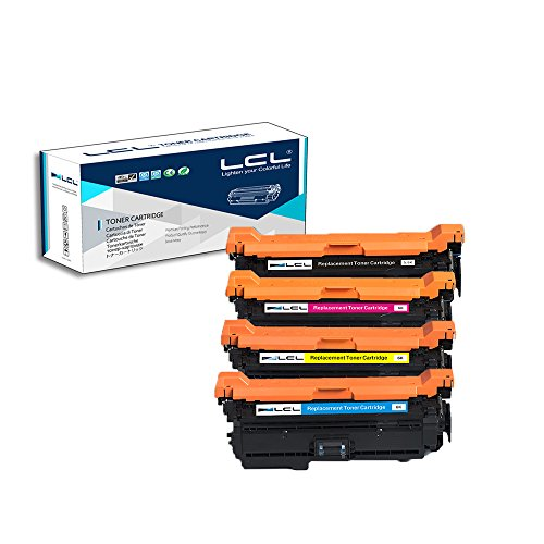 LCL Remanufactured Toner Cartridge Replacement for HP 507A C