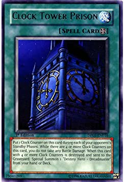 Dp05 En016 1st Ed Clock Tower Prison Rare Card Aster Phoenix Duelist Yu Gi Oh Single Card Amazon Co Uk Toys Games