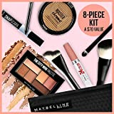 Maybelline New York Glow Getter 8 Piece Makeup Value Kit, Essentials for a Summer Bronze Glow