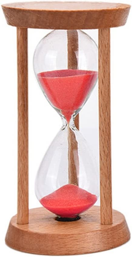 Wooden Sand Glass Hourglass Timer for Tea//Coffee Birthday Great Gift Friend