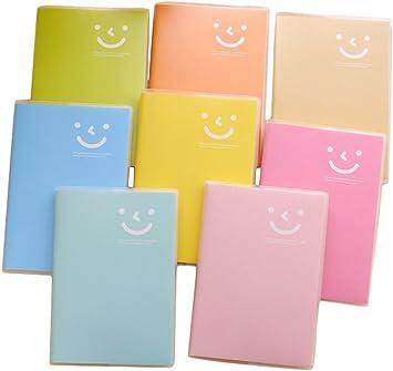 Tagebuch-Notizbuch-Memo-tragbares Minilächeln-PapieRSDE