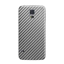 Cruzerlite Carbon Fiber Skin for the Samsung Galaxy S5, Retail Packaging, Graphite (Back Only)