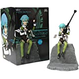 "Taito Sword Art Online II Phantom Bullet 5"" Sinon Action Figure"