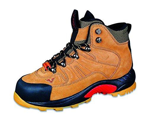 Volare 3660936005462 - Derrick - scarpe di protezione del lavoro, dimensione 46, marrone