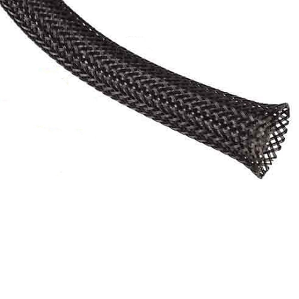 1.50'' Fray Resistant Clean Cut Expandable Braided Sleeving - 250 Feet