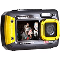 Polaroid IE090-YEL Waterproof Digital Camera with 2.7 LCD (Yellow)