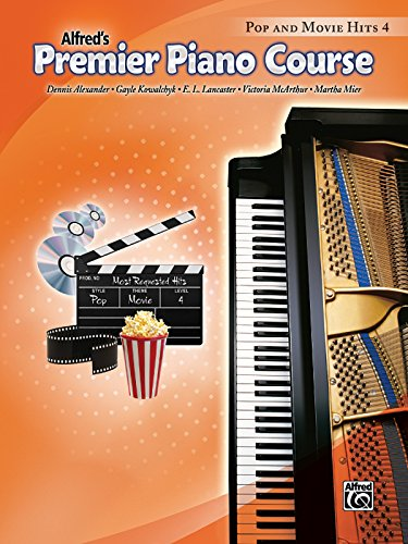 Premier Piano Course Pop and Movie Hits, Bk 4 Course Pop