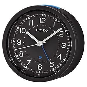 Seiko, QHE096D, Despertador analógico, Negro 1