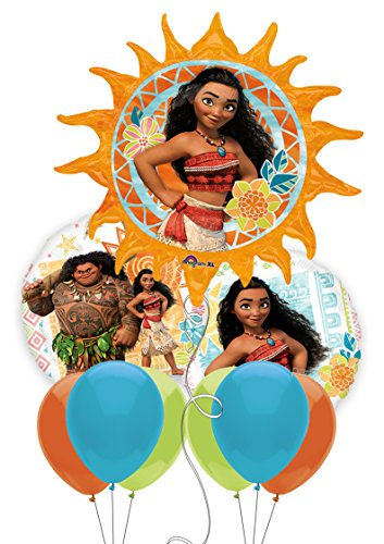 Moana Party Balloon Bouquet