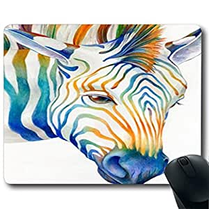 "Animal Art Illustration Customized Rectangle Non-Slip Rubber Mousepad Gaming Mouse Pad 9""X7.4"""