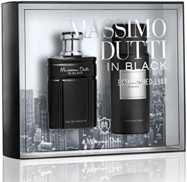 Massimo Duti In Black Eau De Toilette 100Ml Vapo. + Desodorante 150Ml: Amazon.es: Belleza