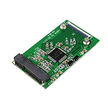 Buytra Tarjeta Adaptador De Cable Mini mSATA PCI-E SSD a 40pin ZIF ...