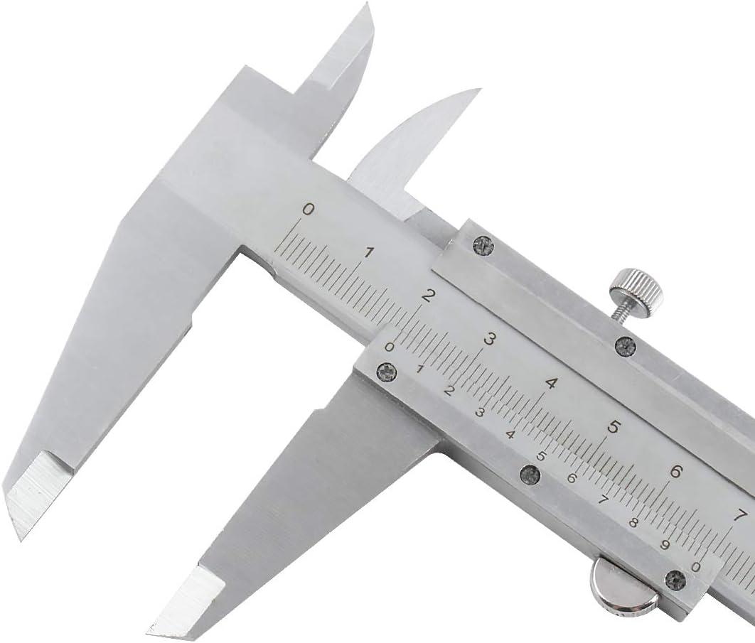 0.001//0.02mm Graduation 24//600mm Measuring Range Fowler 52-085-024 Stainless Steel Master Vernier Caliper with Stain Chrome Finish