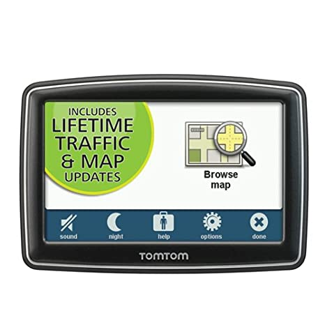 Discontinued by Manufacturer Lifetime Traffic and Maps Edition TomTom XL 350TM 4.3-Inch Portable GPS Navigator