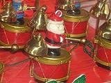 Mr. Christmas Vintage Santa's Marching Band Musical Holiday Display