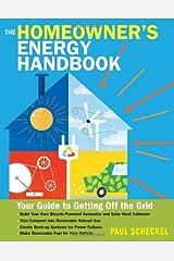 By Paul Scheckel - Homeowner's Energy Handbook Paperback