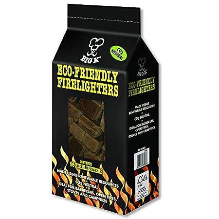 Pack de 96 We Can Source It Ltd Estufa Barbacoa Horno Pizza 3 Packs para Chimenea Big k Ecol/ógico Pastillas de Encendido