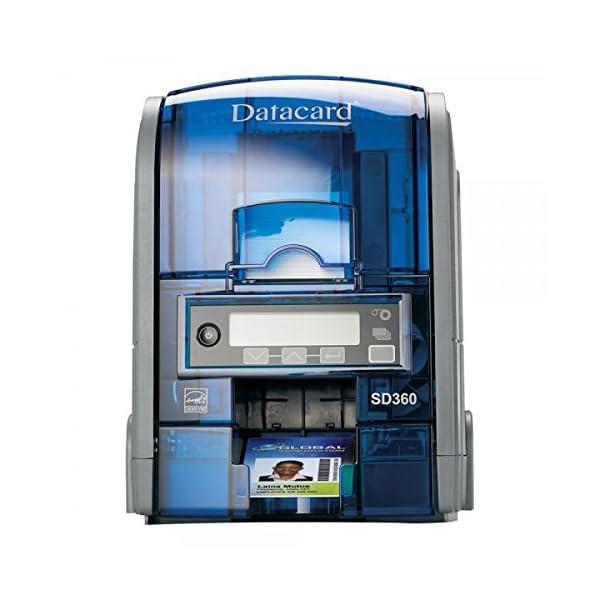 Datacard SD-360 25 PVC Card Printer (Grey)