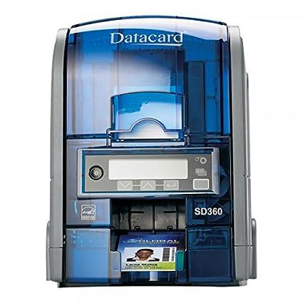 Datacard sd 360 25 pvc card printer grey amazon computers datacard sd 360 25 pvc card printer grey reheart Choice Image