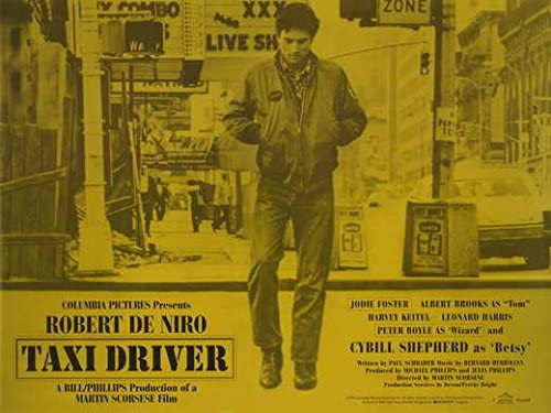 Amazon.com: Taxi Driver POSTER Movie (30 x 40 Inches - 77cm x 102cm)  (1976): Posters & Prints
