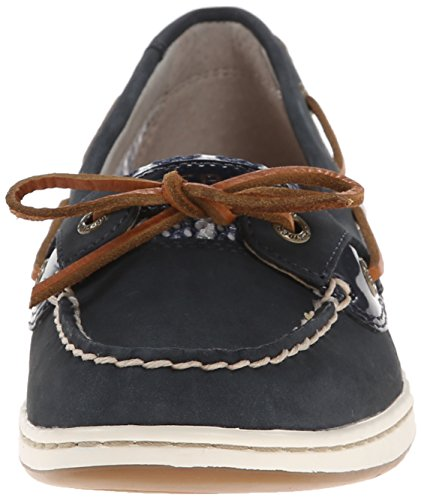 Sider Top Loafer Eye Women's on White Oat Slip Navy Sperry Angelfish 2 5dqzExw5X