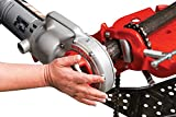RIDGID 41935 Model 700 Hand-Held Power Drive, 26-30 RPM Pipe Threading Machine Only