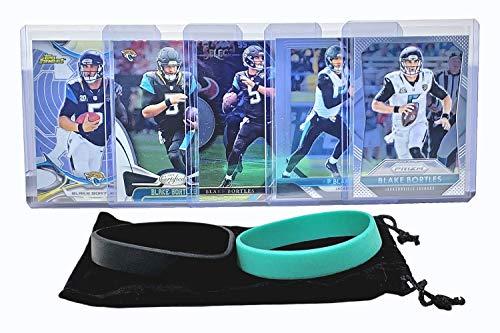 Blake Bortles Football Cards (5) Assorted Bundle - Jacksonville Jaguars Trading Card Gift ()