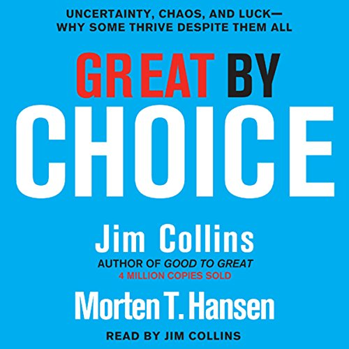 Great by Choice Audiobook [Free Download by Trial] thumbnail