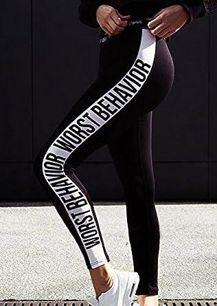 Vin beauty Femmes Lady Daily Courir Gym Sport Jambières d entraînement  Leggings Fitness Maigre Stretchy ae2b3016fec