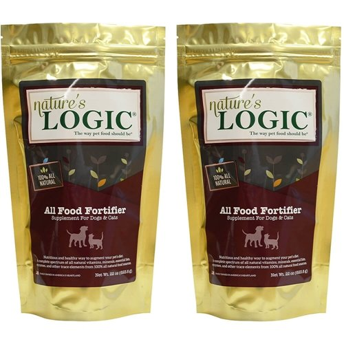 Nature's Logic All Food Fortifier Dog & Cat 22 oz 2 Pack