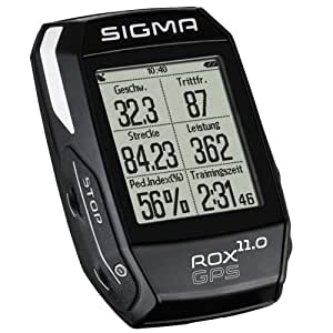 Sigma Sport Rox Gps 11.0 Cyclocomputer One Size Adult 01006 M Medium Black