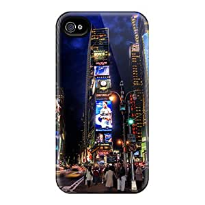 New Arrival Iphone 4/4s Case Times Square Night Case Cover
